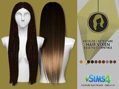HAIR VIXEN   CE - SIMS 4 CC