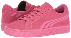 Amazon.com | PUMA Girls' Suede Classic Badge PS Sneaker | Sneakers