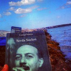 Deniz, kum, bulut ve Cemal Süreya Maviliğinde Şiir Okuma #cemalsureya - @hsipahi- #webstagram