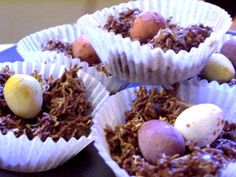 Eater Chocolate Nests in 7 Steps