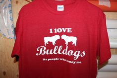 I love bulldogs people are the ones who annoy me by Elleusions