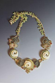 """""""Grace"""" Necklace designed by Jennifer Kalled."""