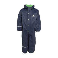 2261ef2854c22a CeLaVi Rainwear Baby Suit - Navy
