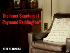 """Because it's the details that count when setting up good """"insider"""" jokes.... #Spader #TheBlacklist #QuirkyDecor #Reddington"""