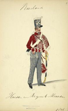 Hussar Regt. Alexandrinsk 1806
