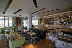 Flocafe coffee store Coffee Store, Conference Room, Bar, Table, Furniture, Ideas, Home Decor, Products, Coffee Shops