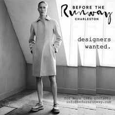 #Repost @beforerunway  Designers wanted for our debut sessions | March 2016 | Charleston SC  #vogue #presentation #runway #stylist #style #mua #BTS #blogger #create #couture #charleston #castingcall #design #designer #edgy #editorial #fashion #fashionblogger #gypsy #highfashion #igfashion #model #magazine #photography #photographer #publication #swoon #fashiondesigner