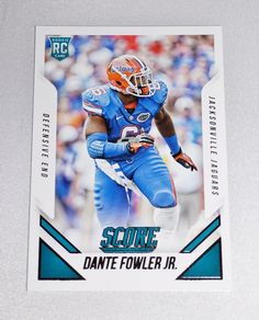 Dante Fowler Jr, Florida Gators, RC #359, Score Collectible Card, Jaguars #FloridaGators