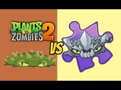 Plants vs Zombies 2 Spikeweed Vs Spikerock