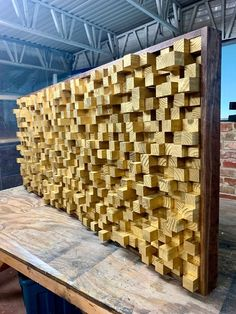 New Wooden Sound Diffuser Acoustic Panel SoundProofing image 1 Wooden Art, Wooden Walls, Wood Wall Art, Recording Studio Design, Into The Woods, Acoustic Panels, Gold Wood, Inspirational Wall Art, Sound Proofing