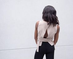 No Code Top, minimal neutral fashion.