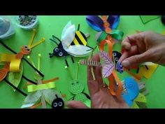 BUGS from ice cream wooden sticks | krokotak