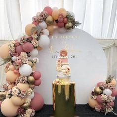 Woodland Birthday Baby Shower Desert Dancer Tassel Garland Wedding Bridal Shower Balloon Tail Gray Tan Neutral