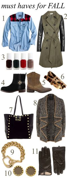 Must haves for Fall 2012 | thedoctorscloset.com