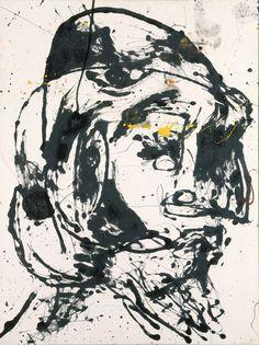 "Jackson Pollock, ""Number 7, 1952″"