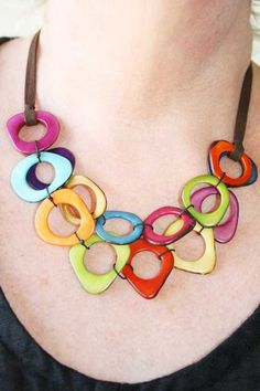 Product Image: Nexus Necklace Multicolor in Accessories and Gifts: Encanto Jewelry