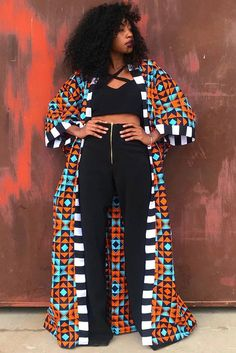 Mangishi Doll Just Proved This Mariya Duster Will Forever Be in Style african fashion Latest African Fashion Dresses, African Print Fashion, Africa Fashion, Fashion Prints, African Women Fashion, Ghana Fashion, African Print Clothing, African Fashion Designers, Ankara Fashion