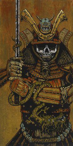 By the Sword of the Samurai art by David Lozeau / San Diego, USA http://www.davidlozeau.com/
