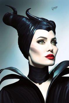 Maleficent by NarineFox on DeviantArt