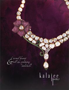 From the new collection of uncut diamond jewellery collection!