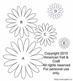 8 (490x544, 128Kb) #feltflowers