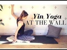 Yin Yoga At The Wall - Restorative Yin Yoga 30 min Class - 42Yogis.com…