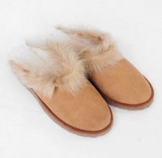 Ethical Christmas Gifts: Beaumont Organic Ruby sheepskin slippers
