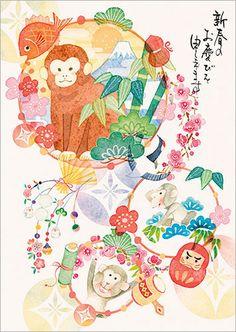 猴年明信片購物滿額送