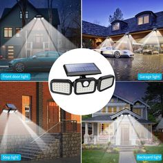 Front Door Lighting, Driveway Lighting, Garage Lighting, Patio Lighting, Motion Lights Outdoor, Parking Lot Lighting, Solar Security Light, Solar Flood Lights, Light Sensor