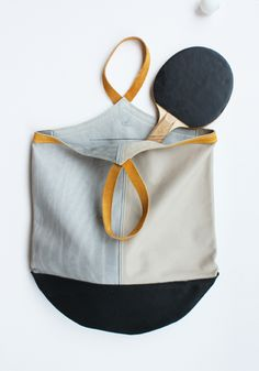 Best Ping Pong Bag! Leanne Cohen were making this in NYC.