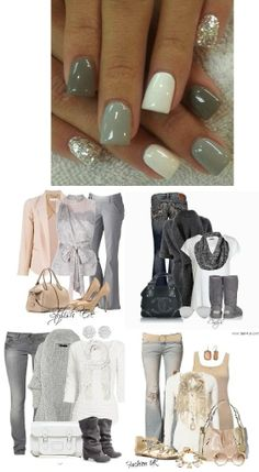 WHICH OUTFIT? Which outfit goes best with these nails? #StoneJN #DiamondDustSparkleJN #TempestJN