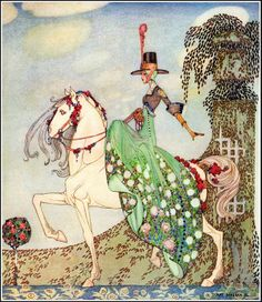 Kay Nielsen. Danish artist Kay Nielsen looked to the fantastical monsters and whimsical landscapes of Asian folklore, weaving Buddhist deity iconography, Chinese cloud bands, and near-surrealist elements into the familiar stories.