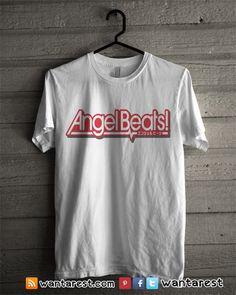 #Angelbeats #anime #otaku #kanade #yuri #shirt #clothing Unisex t-shirts Only $17 ship to worldwide, available size S to 2XL.