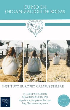 Curso de Wedding Planner. www.campus-stellae.com info@campus-stellae.com
