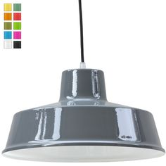 FABRIQUE+Industriedesign-Pendelleuchte+in+vielen+Farben von Edition+Casa+Lumi