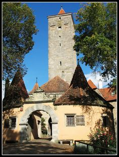 Castle Gate - Rothenburg ob der Tauber, Germany