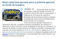 Makro selecciona personal para su próxima apertura en Alcalá de Guadaíra