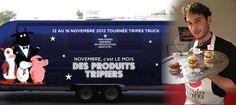 """Very good tripes... Le """"Tripes Truck"""" fait sa tournée pour célébrer la 12e édition de """"Novembre, le mois des produits tripiers"""""""
