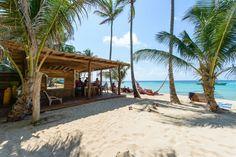 Lasse den Abend im Hotel Yemaya auf Little Corn Island am besten mit einem Cocktail an der Strandbar ausklingen.