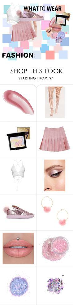 """pink and pastel outfit"" by emugliston-1 ❤ liked on Polyvore featuring Laura Mercier, Holika Holika, Minna Parikka, Ettika and The Gypsy Shrine"