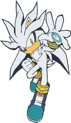 Silver the Hedgehog Hedgehog Art, Sonic The Hedgehog, Silver The Hedgehog, Shadow The Hedgehog, Sonic Fan Art, Sonic Funny, Sonic Heroes, Sonic Fan Characters, Sonic Franchise