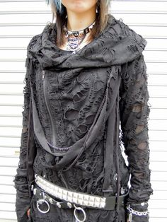Dystopian Fashion, Japanese punk style haori (japanese jacket)