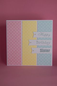 Birthday Cards For Her Handmade Colorful Card Sizes Cool