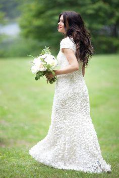 Photography: Justyna Sokolowski - justynasokolowski.blogspot.ca/  Read More: http://www.stylemepretty.com/canada-weddings/2014/04/23/rustic-glam-huntsville-ontario-wedding-at-trillium-resort-and-spa/