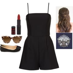 Untitled #2956 by adi-pollak on Polyvore featuring Forever 21 and Rimmel