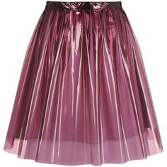 Designer Clothes, Shoes & Bags for Women High Skirts, A Line Skirts, Pleated Skirts, Stage Outfits, Kpop Outfits, Fashion Outfits, Skirt Pants, Shorts, Purple Skirt
