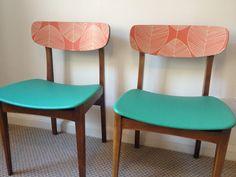 upcycled retro chairs happyretro.com