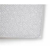 Grey Dots Crib Sheet