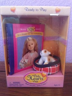Only Hearts Club Ready to Play w/the Dog Cupcake and Book #00302 NIB #Dolls