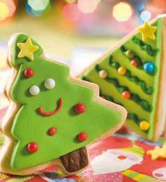 Alfajores arbolito #receta #fiestas #navidad